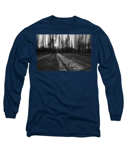 Charred Silence - Yosemite Rim Fire 2013 Long Sleeve T-Shirt