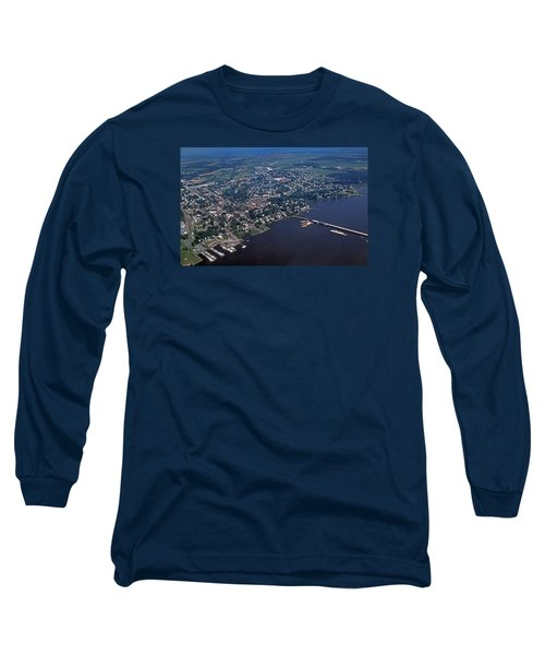 Chestertown Maryland Long Sleeve T-Shirt by Skip Willits