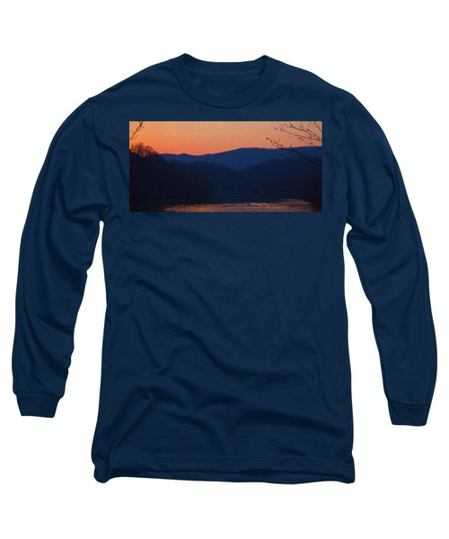 Days End Long Sleeve T-Shirt by Tom Culver