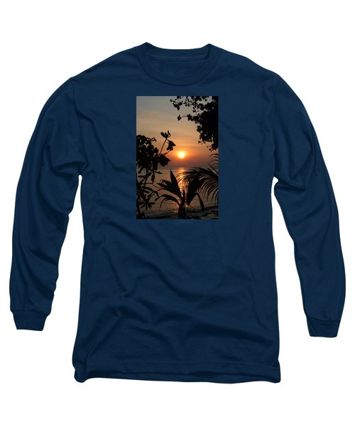 Evening Sun Long Sleeve T-Shirt by Elizabeth Lock