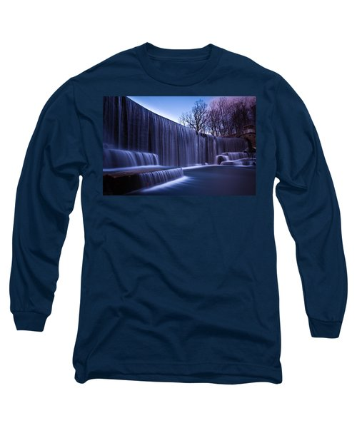 Long Sleeve T-Shirt featuring the photograph Falling Water by Mihai Andritoiu