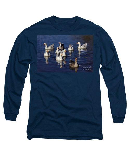Family Goose Long Sleeve T-Shirt