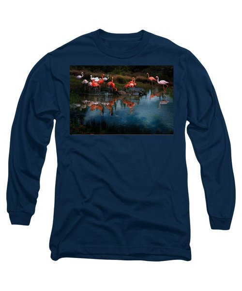 Flamingo Convention Long Sleeve T-Shirt