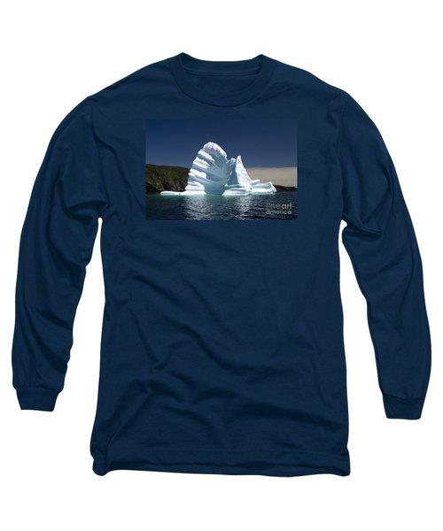 Long Sleeve T-Shirt featuring the photograph Iceberg by Liz Leyden