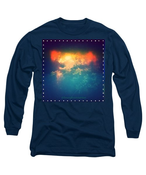 Darkest Before The Dawn Iv Long Sleeve T-Shirt by Anna Porter