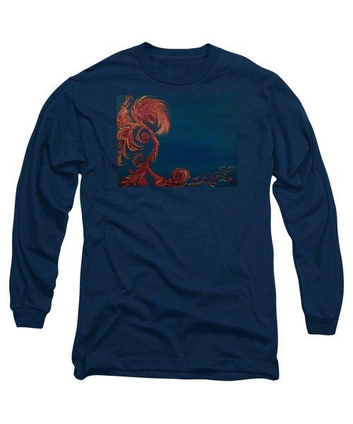 Jumbie Under De' Ocean Long Sleeve T-Shirt
