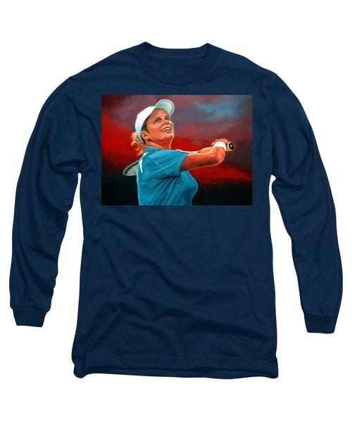 Kim Clijsters Long Sleeve T-Shirt