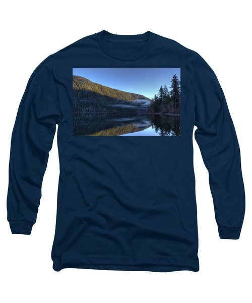 Morning Mist Long Sleeve T-Shirt by Randy Hall