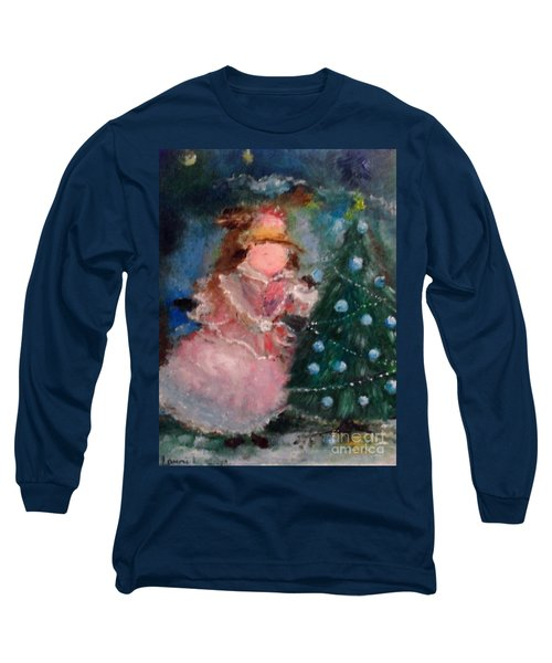 Mother Christmas Long Sleeve T-Shirt by Laurie L