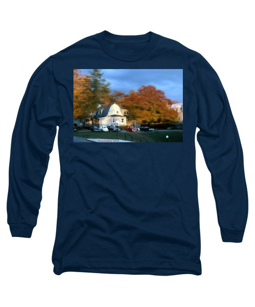 Long Sleeve T-Shirt featuring the painting Northeastern Bible College by Bruce Nutting
