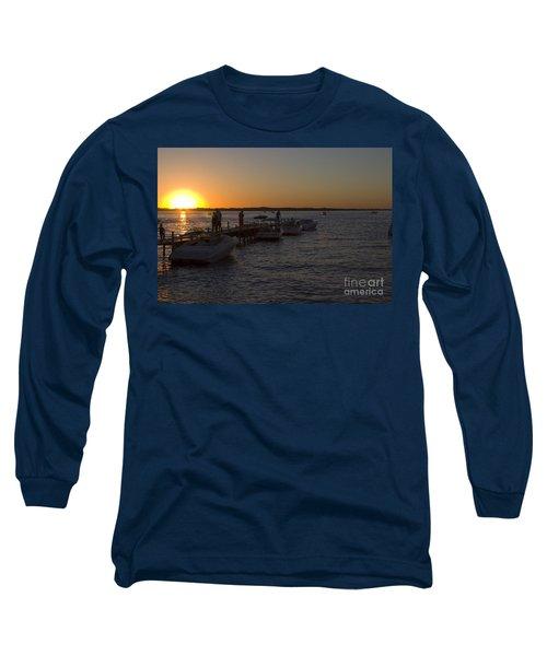 Okoboji Nights Long Sleeve T-Shirt