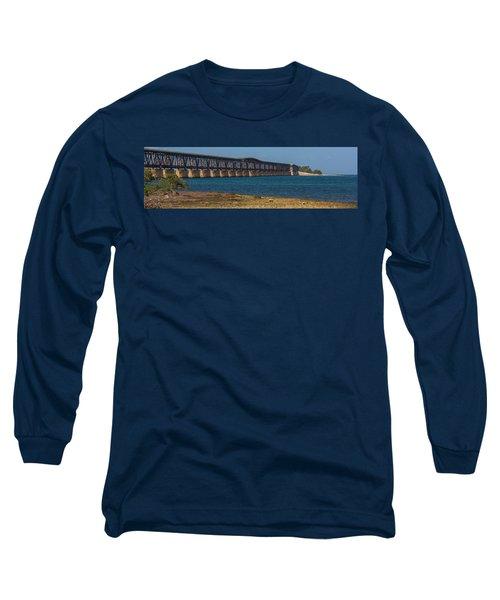 Old Bahia Honda Bridge Long Sleeve T-Shirt