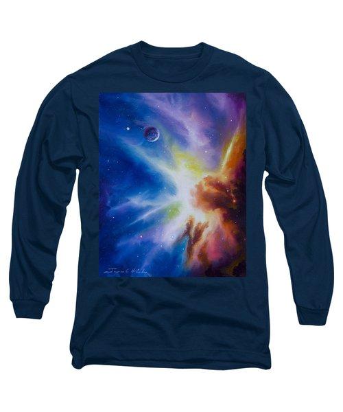 Origin Nebula Long Sleeve T-Shirt