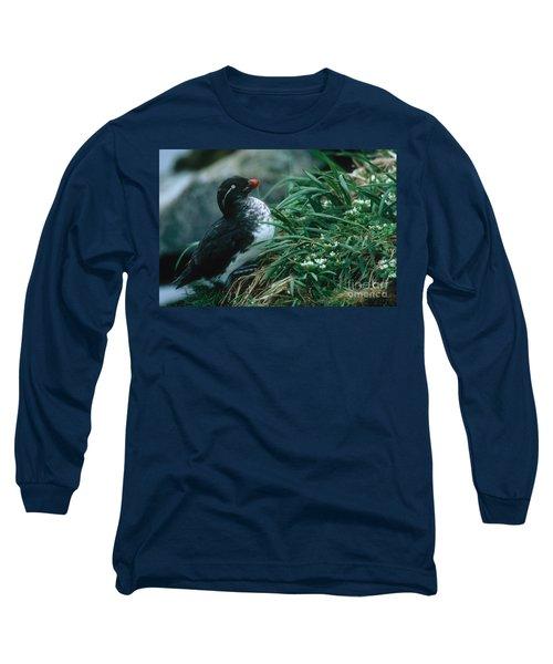 Parakeet Auklet Long Sleeve T-Shirt