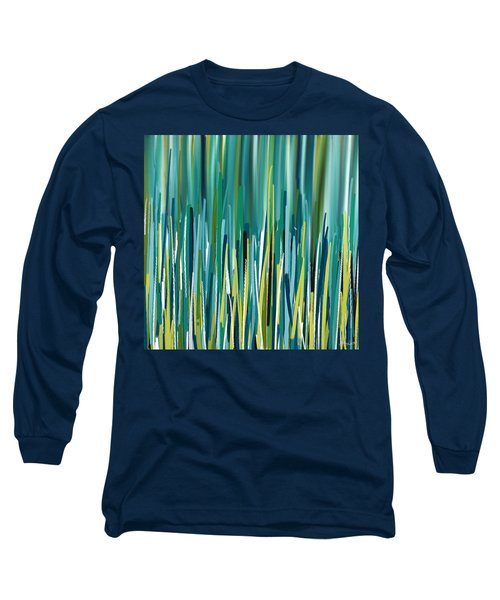 Peacock Spikes Long Sleeve T-Shirt