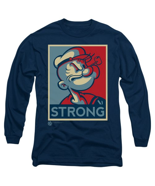 Popeye - Strong Long Sleeve T-Shirt