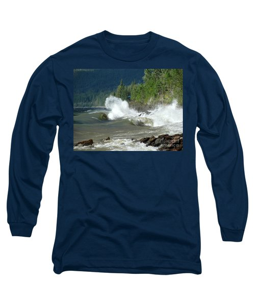 Stormy Lake Long Sleeve T-Shirt