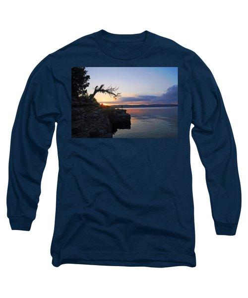 Sunrise Over Table Rock Lake Long Sleeve T-Shirt
