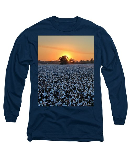 Sunset Over Cotton Long Sleeve T-Shirt
