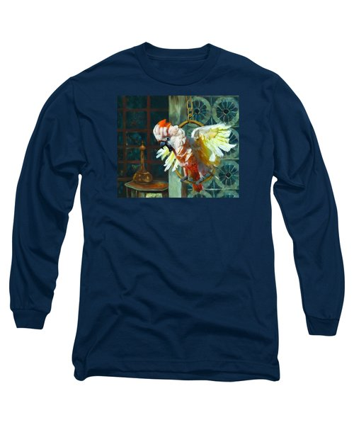 Tango The Moluccan Cockatoo  Long Sleeve T-Shirt