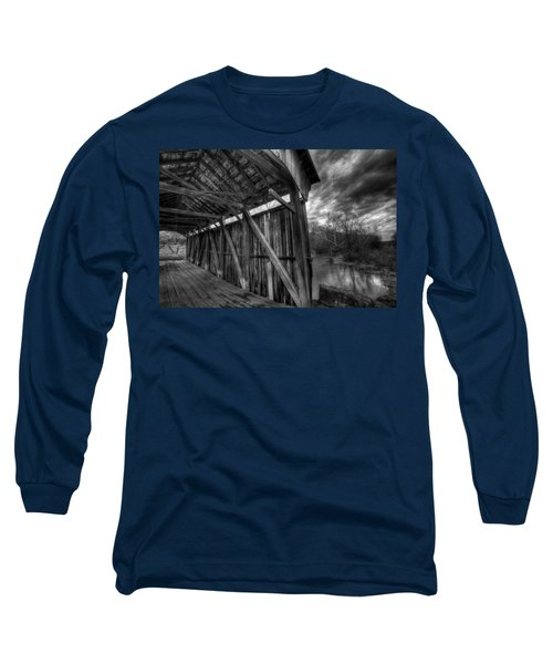 Trinity Road Covered Bridge Long Sleeve T-Shirt