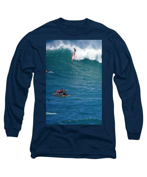 Waimea Bay Takeoff Long Sleeve T-Shirt