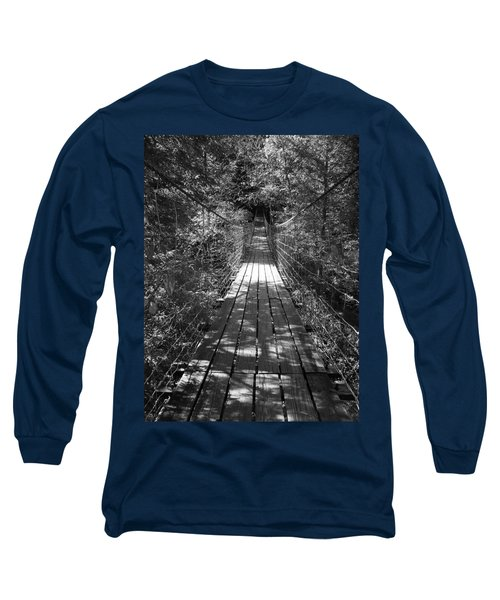 Walk Through Woods Long Sleeve T-Shirt