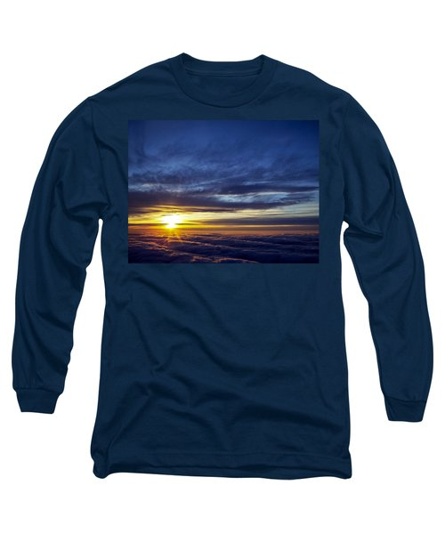 Long Sleeve T-Shirt featuring the photograph Winter Dawn Over New England by Greg Reed