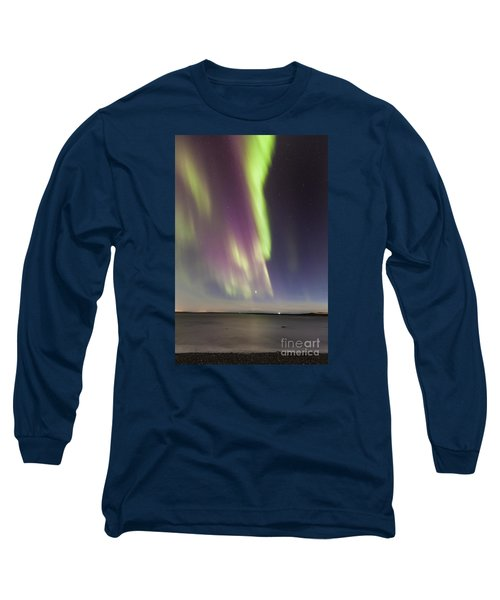 Northern Lights Iceland Long Sleeve T-Shirt