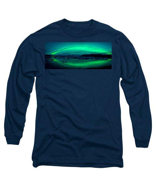 Aurora Borealis Or Northern Lights Long Sleeve T-Shirt