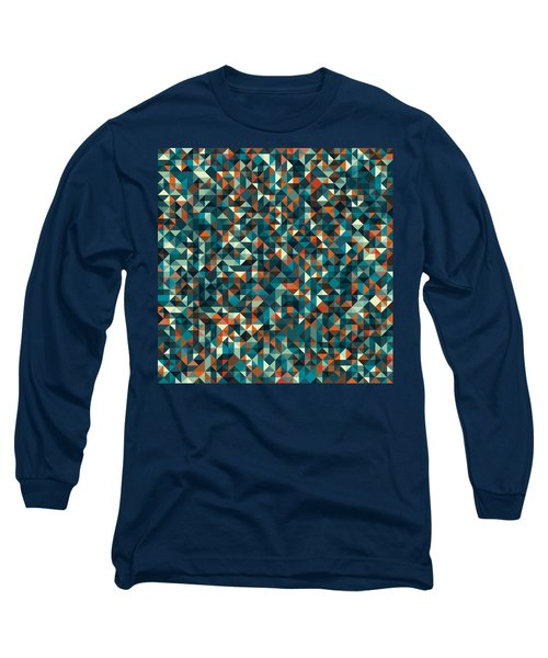 Retro Pixel Art Long Sleeve T-Shirt