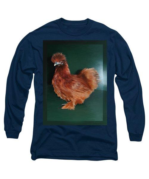 19. Red Silkie Hen Long Sleeve T-Shirt