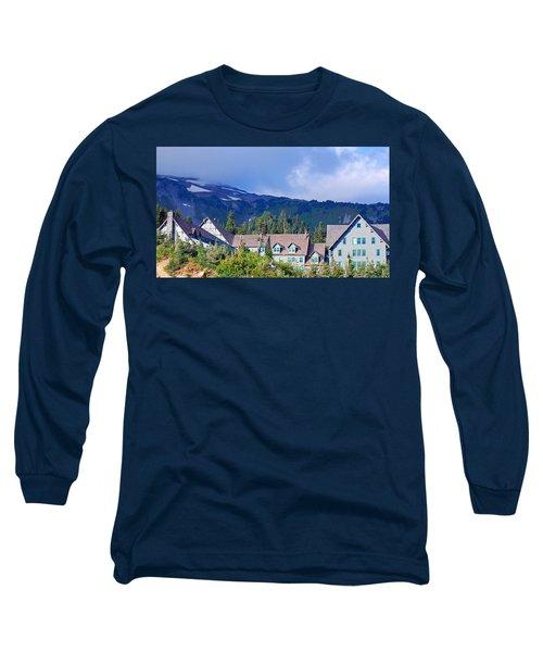 1916 Paradise Inn. Mount Rainier National Park Long Sleeve T-Shirt
