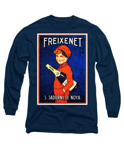 1920 - Freixenet Wines - Advertisement Poster - Color Long Sleeve T-Shirt