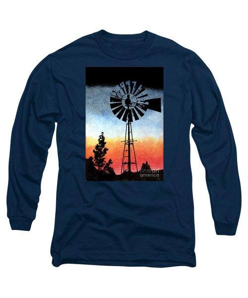 Nostalgia High Tech Long Sleeve T-Shirt by R Kyllo