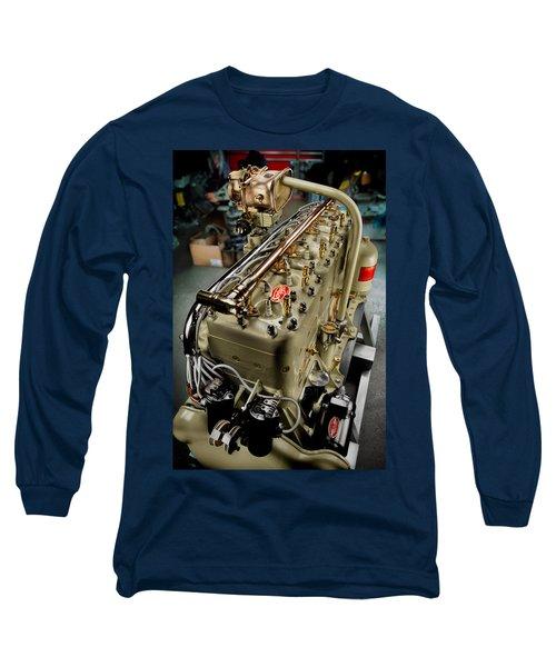 1928 Scripps 205 Engine Long Sleeve T-Shirt