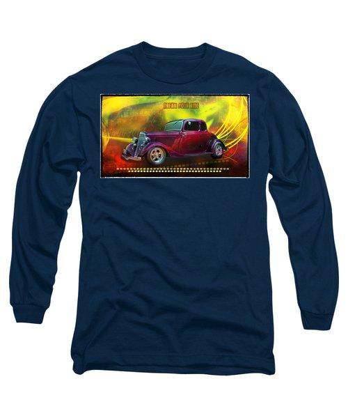 1934 Ford 5 Window Gennie Long Sleeve T-Shirt