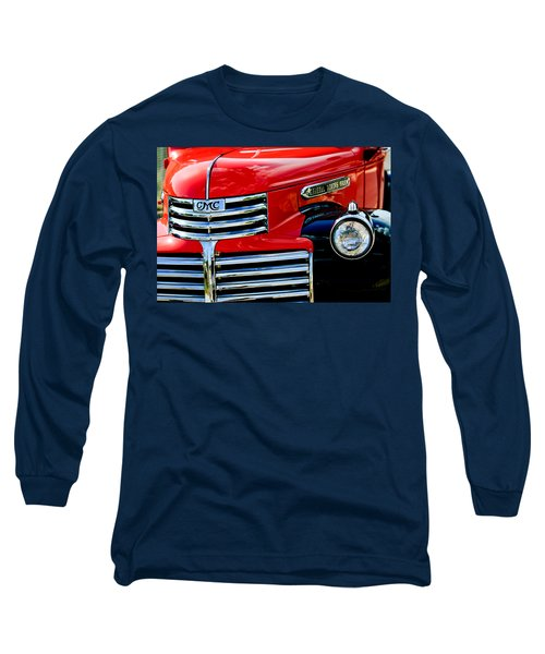 1942 Gmc  Pickup Truck Long Sleeve T-Shirt by Jill Reger