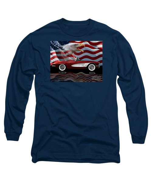 1961 Corvette Tribute Long Sleeve T-Shirt