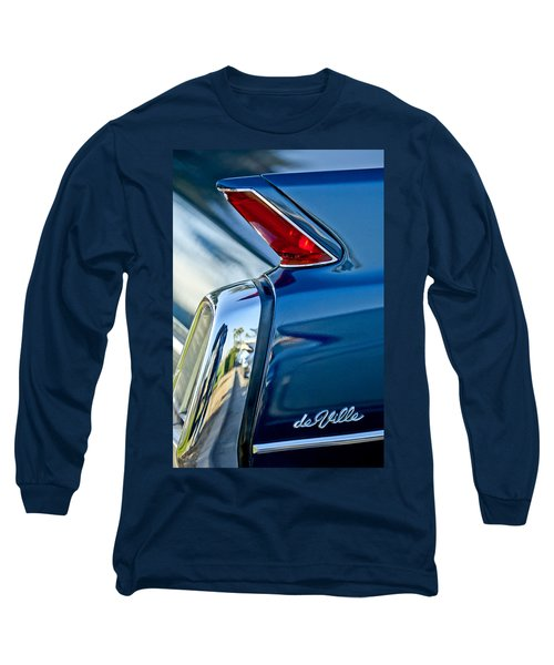 1962 Cadillac Deville Taillight Long Sleeve T-Shirt