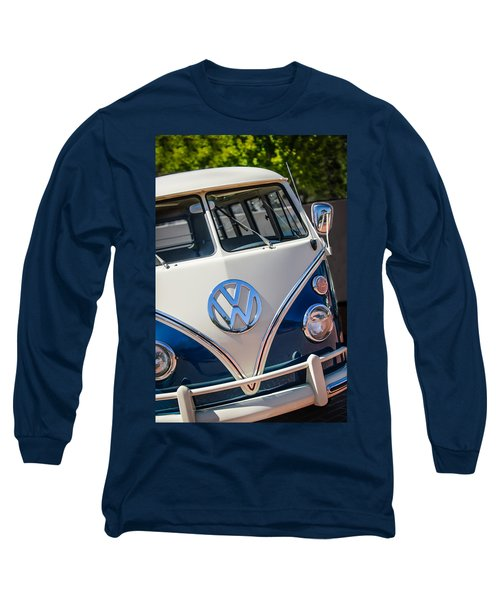 1966 Volkswagen Micro Bus -1012c Long Sleeve T-Shirt