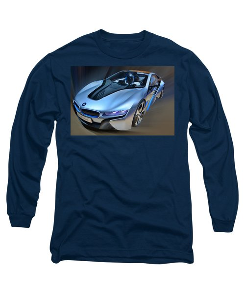 B M W  I8  Concept  2014 Long Sleeve T-Shirt