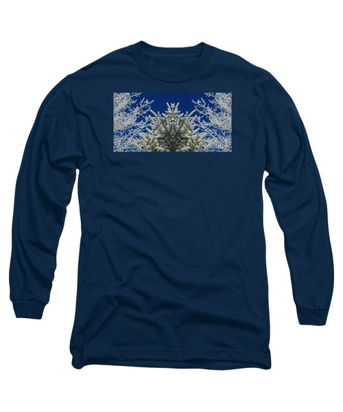 Long Sleeve T-Shirt featuring the photograph Frosty by Janice Westerberg