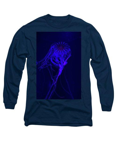 Jellyfish In Aquarium Of Quebec Long Sleeve T-Shirt