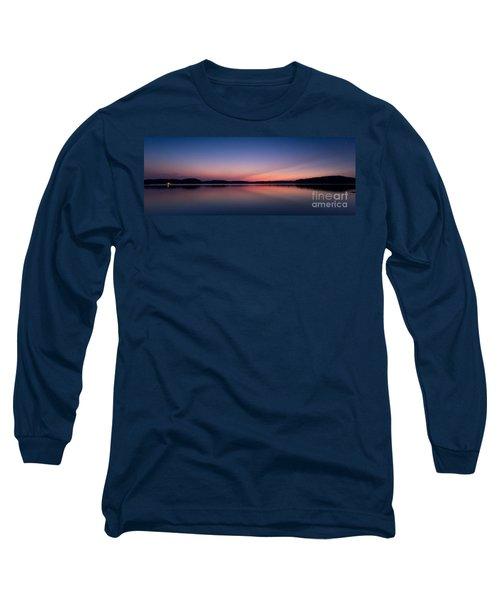 Lake Lanier After Sunset Long Sleeve T-Shirt