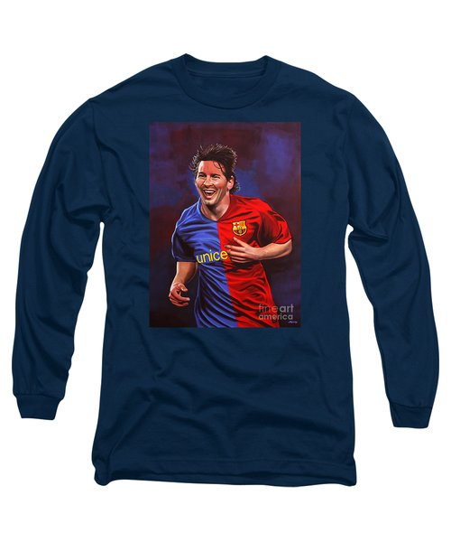 Lionel Messi  Long Sleeve T-Shirt