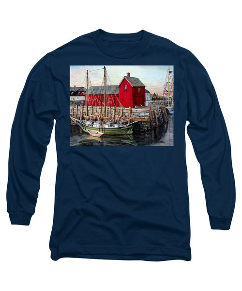 Motif  Number One Long Sleeve T-Shirt by Eileen Patten Oliver