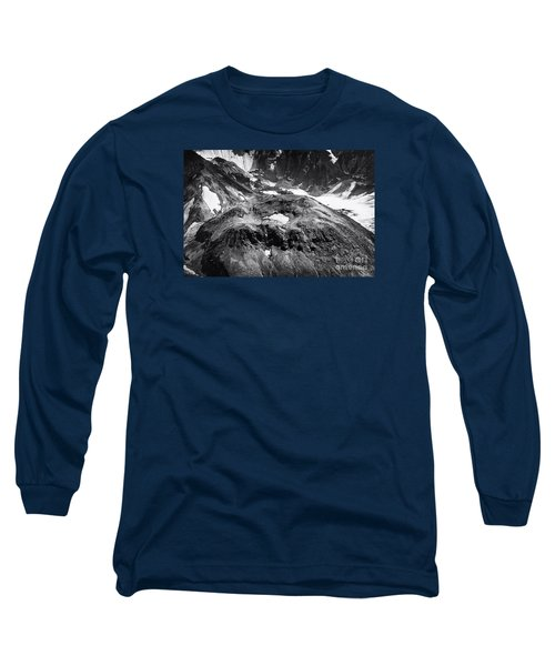 Long Sleeve T-Shirt featuring the photograph Mt St. Helen's Crater by David Millenheft