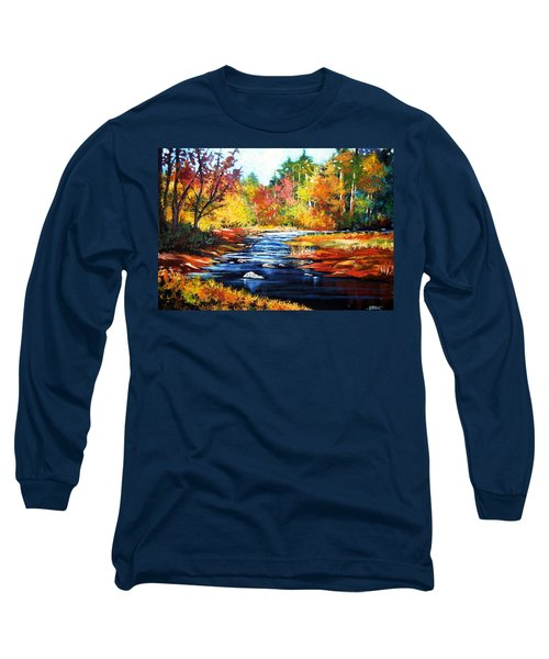 October Bliss Long Sleeve T-Shirt by Al Brown