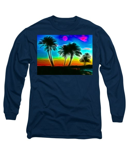 Long Sleeve T-Shirt featuring the photograph Paradise by Tammy Espino